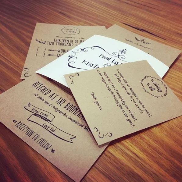 brisbane letterpress printing letterpress embossing With wedding invitations printing brisbane